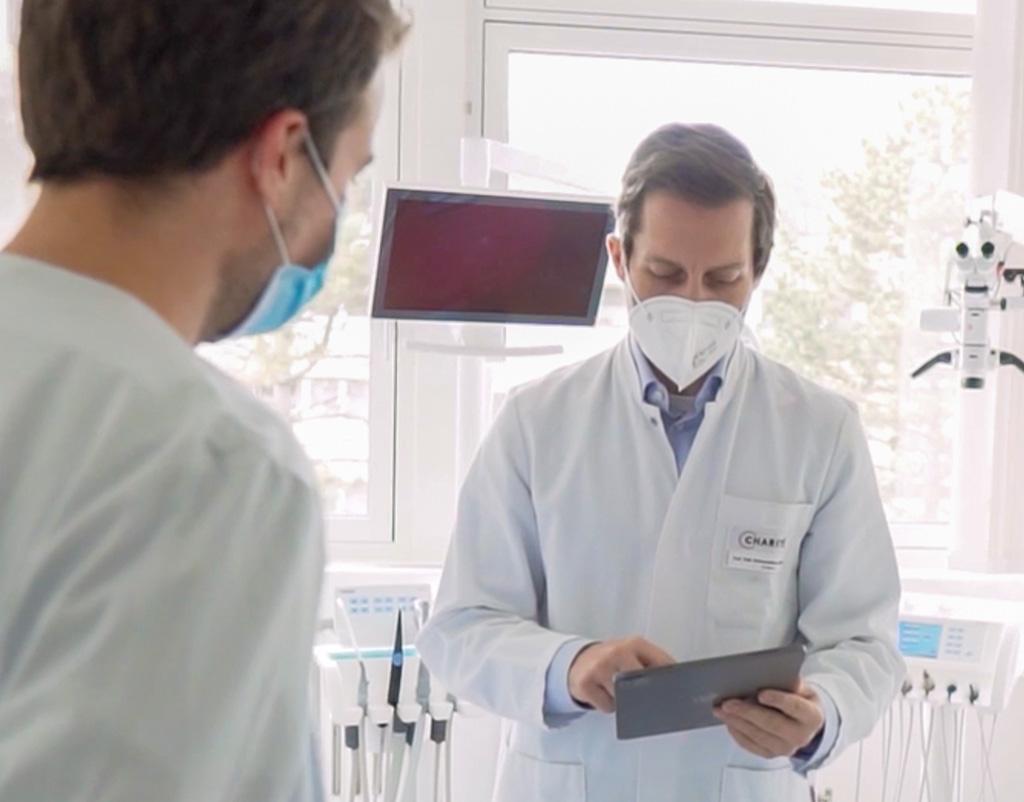 die KI-Technologie von dentalXrai